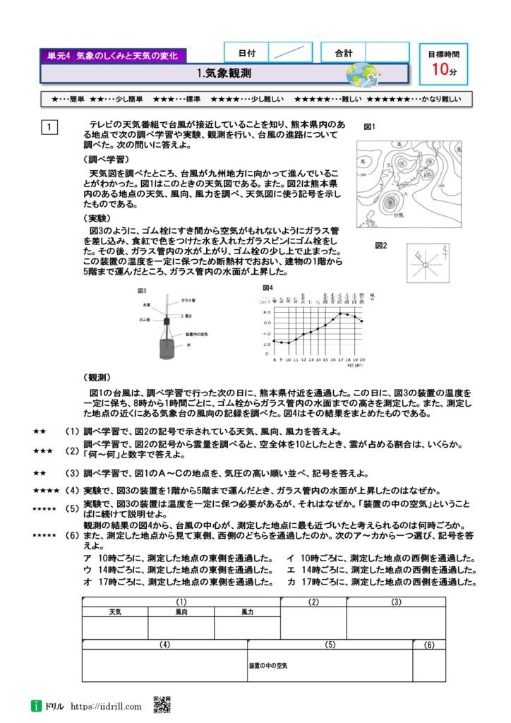 高校入試問題理科2年28-37のサムネイル