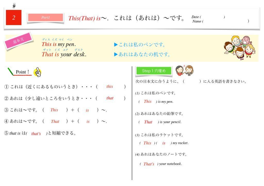 小学生から使える英語問題集中1k-10-16のサムネイル