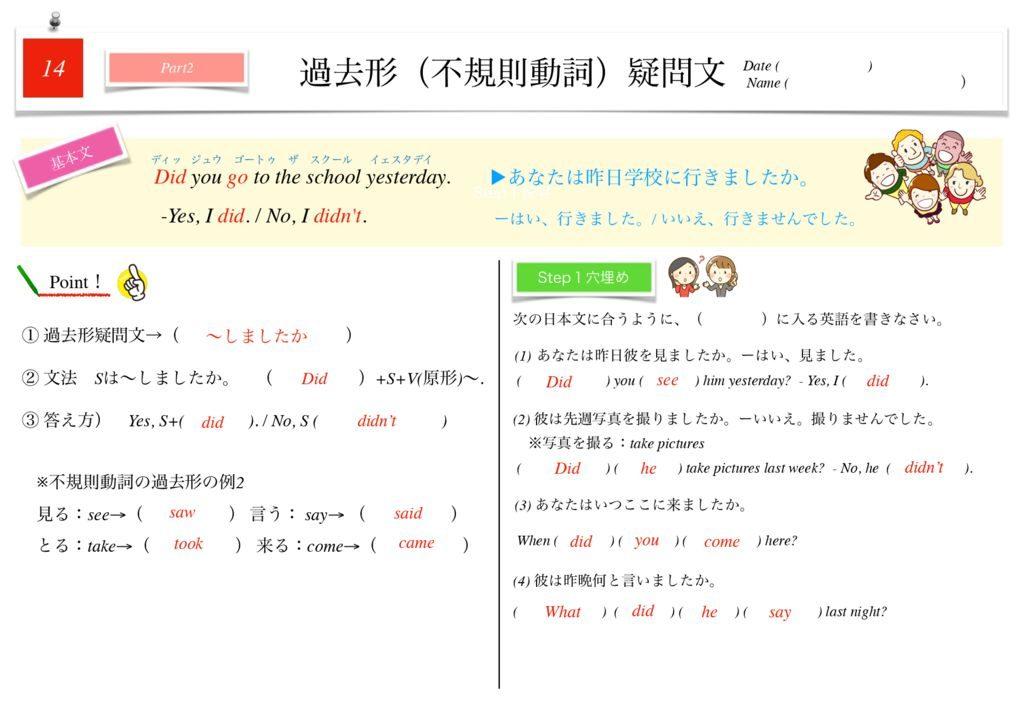 小学生から使える英語問題集中1k-102のサムネイル