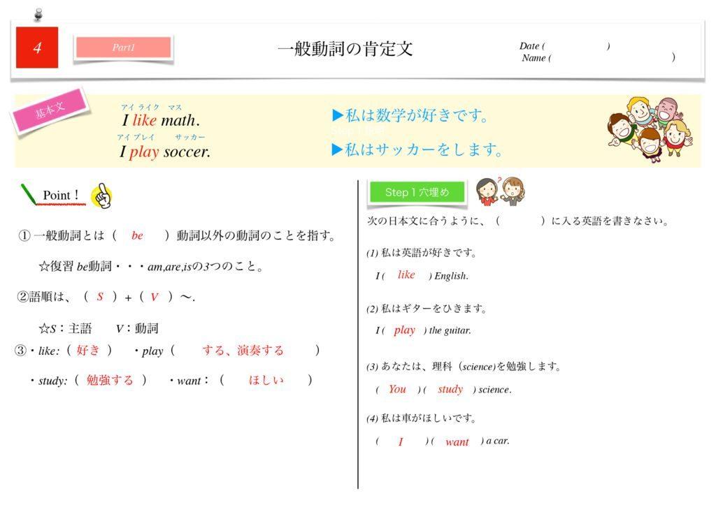 小学生から使える英語問題集中1k-24のサムネイル