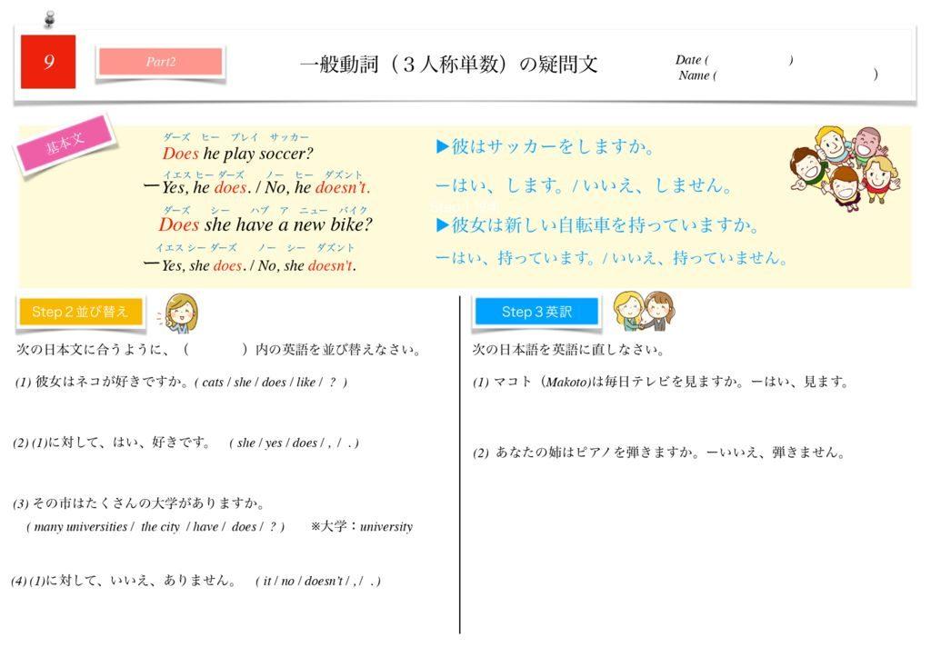 小学生から使える英語問題集中1m-54のサムネイル