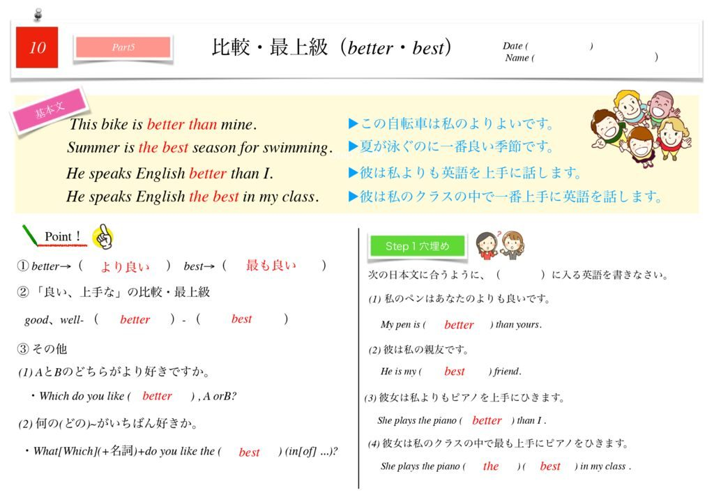 小学生から使える英語問題集中2k-72のサムネイル