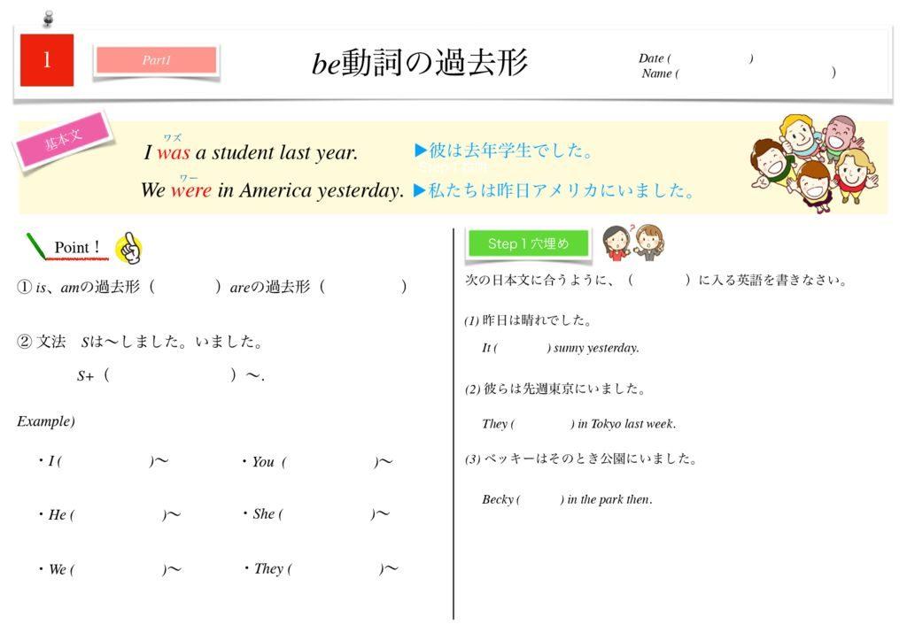 小学生から使える英語問題集中2m-1-7のサムネイル