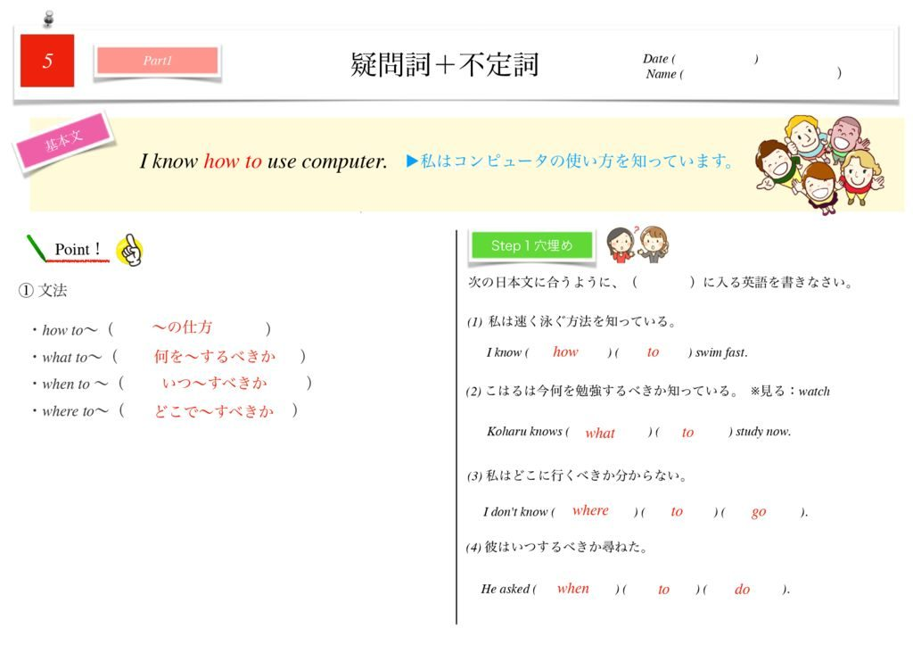 小学生から使える英語問題集中3k-34のサムネイル