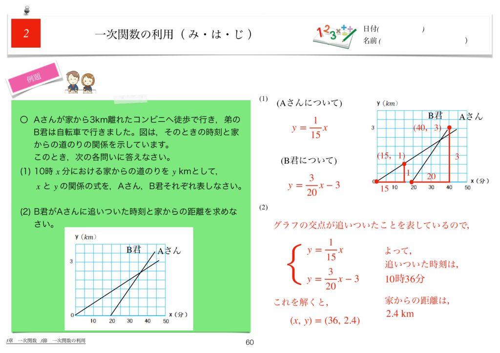 世界一わかりすい中2数学3章k-60のサムネイル