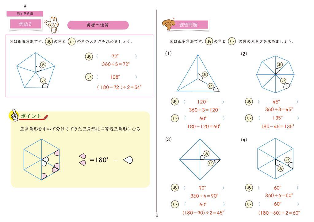 14円と正多角形k-2のサムネイル