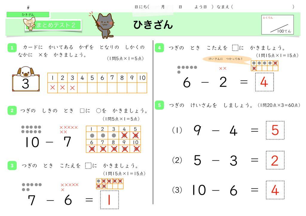 5ひき算k-15のサムネイル