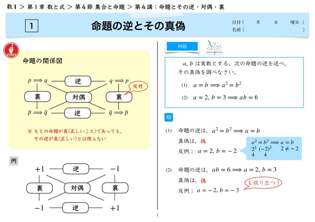 高数I 1−4 第4講k-1のサムネイル