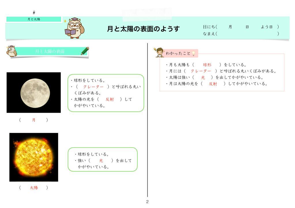 6 月と太陽k-2のサムネイル
