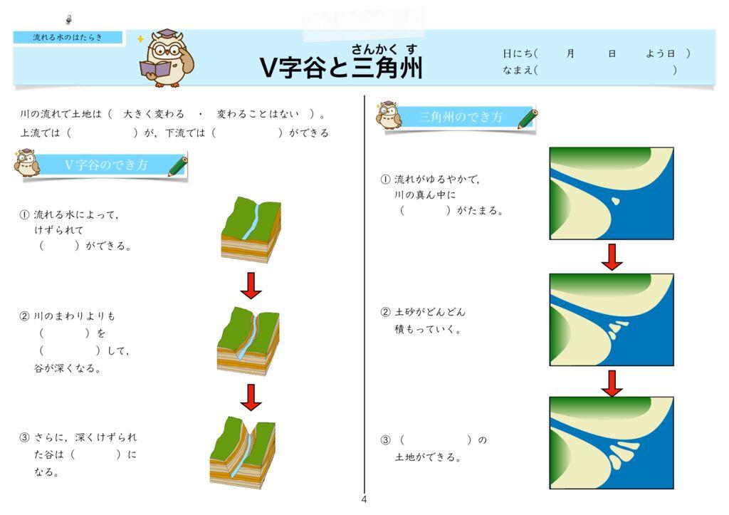 8流れる水の働きm -4のサムネイル