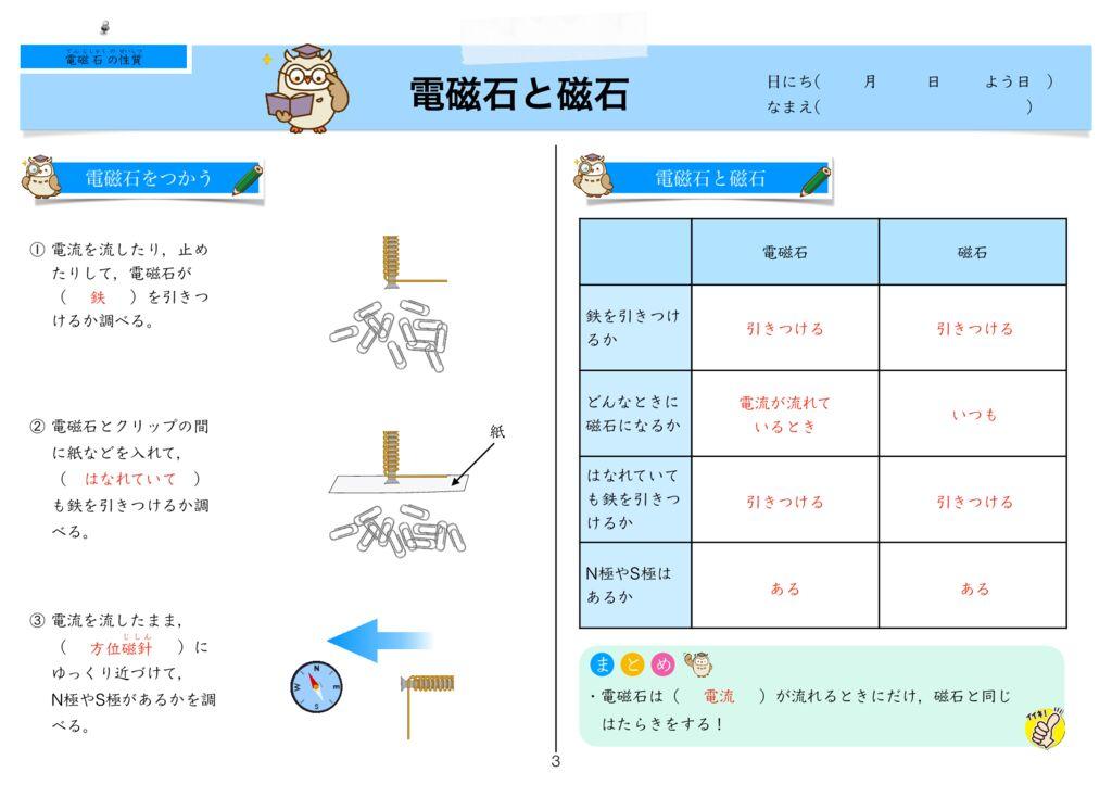 9電磁石の性質k-3のサムネイル